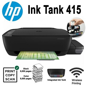 HP Ink Tank Kablosuz 415 Yazıcı Driver