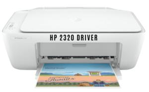 HP DeskJet 2320 Yazıcı Driver