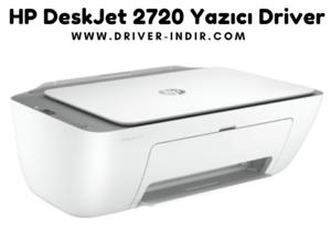 HP DeskJet 2720 Yazıcı Driver