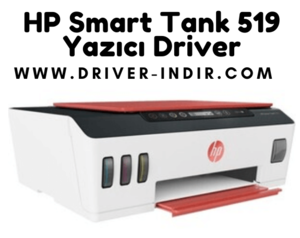 HP Smart Tank 519 Yazıcı Driver